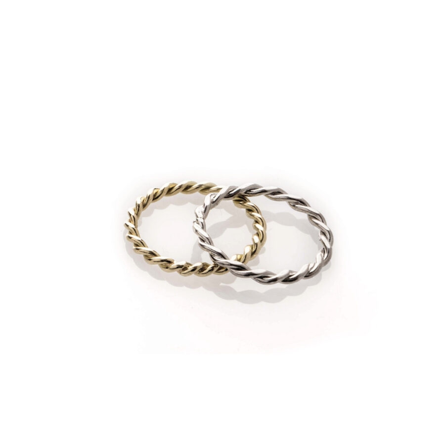 anello intrecciato