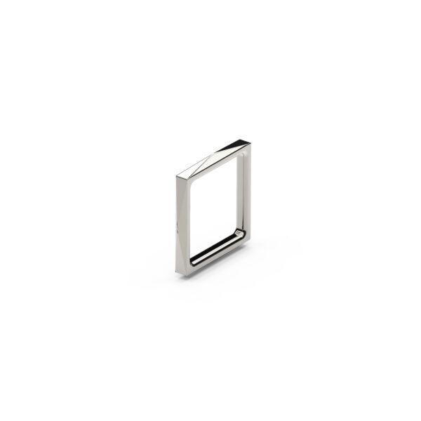 anello quadrato AG