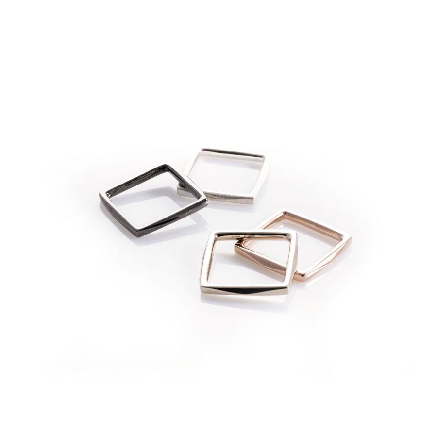 anello quadrato